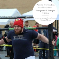 Adam's Training Log